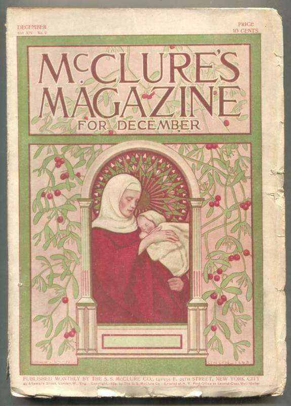 McClures Pulp December 1899- O Henry- Christmas cover