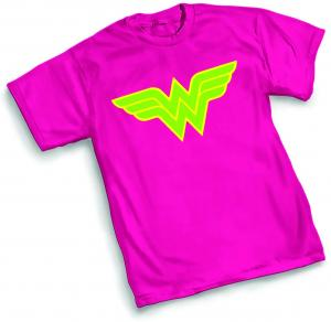 NEO-WONDER WOMAN SYMBOL X-LARGE T-SHIRT GRAPHITTI DESIGNS NEW