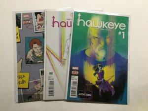 All-New Hawkeye 1 2 3 Lot Run Set Near Mint Nm Marvel