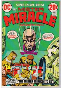 MISTER MIRACLE #10, FN+, Jack Kirby, 4th World, 1971, more JK in store