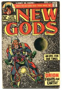 NEW GODS #1 1st issue - DARKSEID comic book  1971 DC VG
