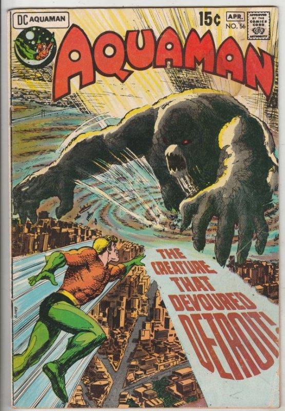Aquaman #56 (Feb-71) VG/FN Mid-Grade Aquaman, Aqualad, Mira