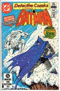 DETECTIVE #522, VF, Batman, Green Arrow SnowMan, 1937 1983, more BM in store