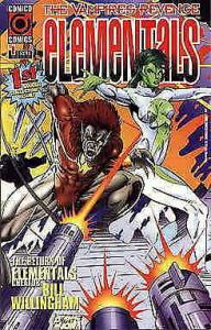 Elementals: The Vampires' Revenge #1 VF/NM; COMICO | save on shipping - details