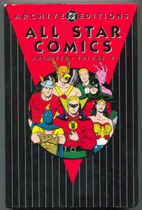 All Star Comics Archives Vol 7 -Color Reprints-Hardcover