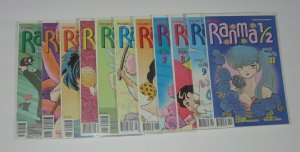 Lot/11 Ranma 1/2 #2,2B,4,4B,5,5B,7,7B,8,9,11 Manga Comics NM Rumiko Takahashi