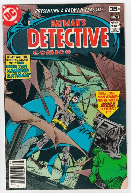 Detective Comics #477 (Jun-78) VF+ High-Grade Batman