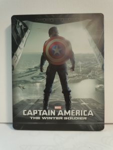 Captain America Winter Soldier (Blu-ray) STEELBOOK