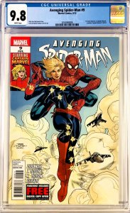 Avenging Spider-Man #9 CGC 9.8 (1st Carol Danvers as Captain Marvel)