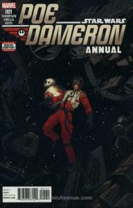 Poe Dameron Annual #1 VF/NM; Marvel   save on shipping - details inside