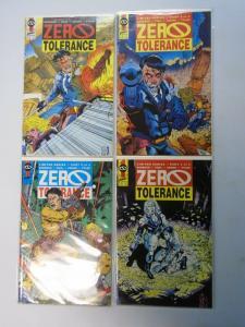 Zero Tolerance, Set:#1-4, 8.0/VF (1990)
