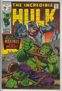 Incredible Hulk #119 (Sep-69) VF/NM High-Grade Hulk