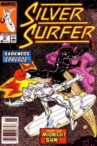 Silver Surfer (1987 series) #29, VF+ (Stock photo)