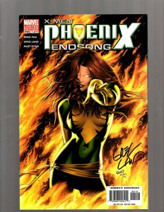 X-Men Phoenix Endsong # 1 NM Marvel Comic Book SIGNED By Greg Land Variant RP5