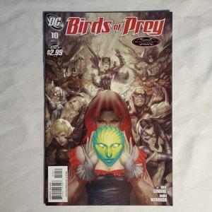 Birds of Prey 10 Near Mint- Cover by Stanley Artgerm