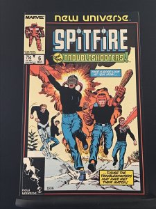Spitfire and the Troubleshooters #6 (1987)