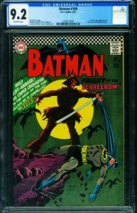BATMAN #189 CGC 9.2-FIRST SCARECROW-DC-2039575009