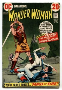 WONDER WOMAN #202 1st appearance FAFHRD THE BARBARIAN  comic book