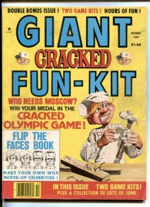 Giant Cracked October 1980- FUN KIT- Olympic Game