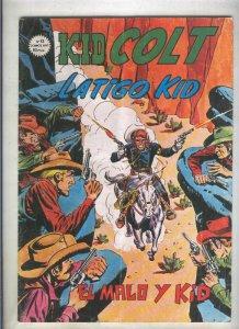 Kid Colt numero 12: El malo y kid (numerado 2 en trasera)