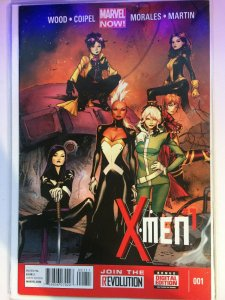 X-Men #1 Marvel Now! Morales NM Coipel 2013