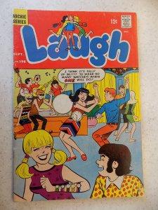 LAUGH # 198 ARCHIE COMICS JUGHEAD JOSIE BETTY HUMOR