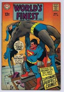 World's Finest #180 Superman Batman ORIGINAL Vintage 1968 DC Comics