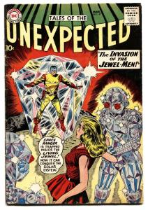 TALES OF THE UNEXPECTED #47 1960 DC SPACE RANGER JEWEL vg
