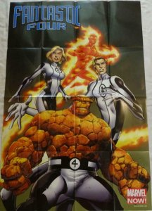 FANTASTIC FOUR Promo Poster, 24 x 36, 2012, MARVEL, Unused more in our store 238
