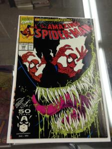 The Amazing Spider-Man 346 NM-/NM Venom Cover Story (Marvel Apr. 1991)