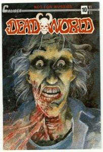 Deadworld #10 Variant FIRST APPEARANCE THE CROW - Caliber - November 1988