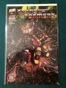 Transformers #7 Vol 3 Dreamwave Productions NM-M