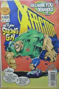 X-Factor #135 (1997) Return of Strong Guy !!