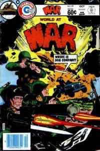 War #41 VG; Charlton | low grade comic - save on shipping - details inside