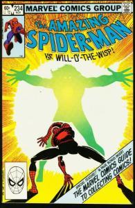 AMAZING SPIDER-MAN #234-1982-MARVEL VF