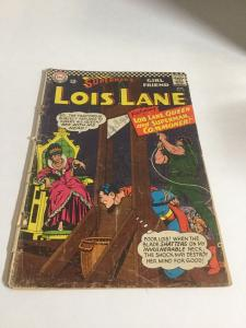 Superman's Girlfriend Lois Lane 67 Gd Good 2.0 Cover Detached DC Silver Age