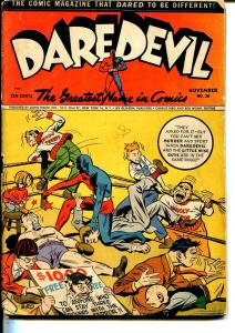 Daredevil #20 1943-Lev Gleason-last Claw vs Ghost-Wolverton-Pirate Prince-VG-