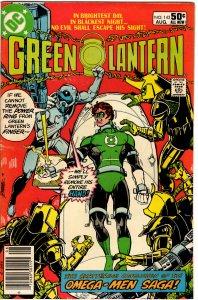 Green Lantern #143 (1960 v2)  Marv Wolfman George Pérez 1st Omega Men FN