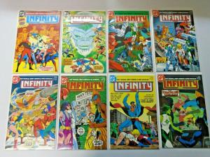 Infinity Inc set #1 to #53 all 53 different books 8.0 VF (1984)