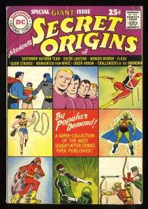 Secret Origins (1961) #1 VG+ 4.5