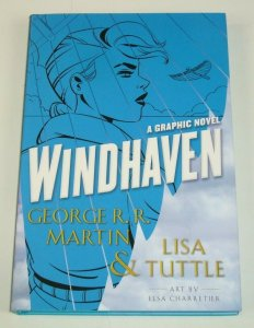 Windhaven: The Graphic Novel HC VF/NM George R.R. Martin & Lisa Tuttle hardcover