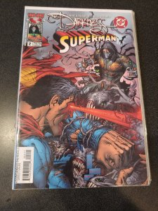 DARKNESS SUPERMAN #2 NM HARD TO FIND