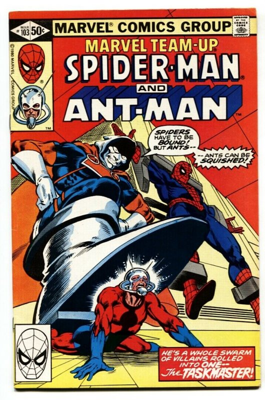 Marvel Team-Up #103 1980- Ant-Man Taskmaster VF