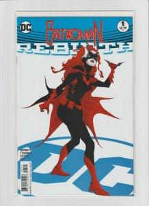 Batwoman Rebirth #1 NM- 9.2 High Grade! Cover B Variant!!