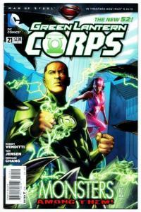 New 52 Green Lantern Corps #21 (DC, 2013) VF