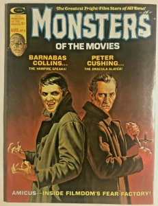 MONSTERS OF THE MOVIES#8 FN/VF 1975 MARVEL BRONZE AGE MAGAZINE