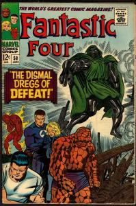Fantastic Four #58 (Jan 1967, Marvel) 3.0 GD/VG