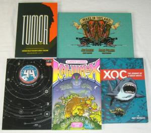Lot of (5) Oni Press TPBs/HC's - hardcovers - kaiju max - tumor (value: $69.97)