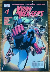 YOUNG AVENGERS #1 NM 1ST Kate Bishop Patriot Iron Lad Wiccan Marvel Comic 2005