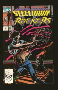 Marvel Comics Steeltown Rockers Vol 1 No 1 April 1990